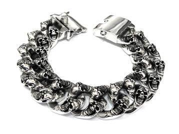Браслет мужской серебряный - Самые красивые и креативные украшения здесь