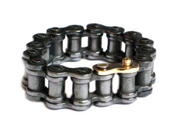 фильм - мужской браслет каучук серебро